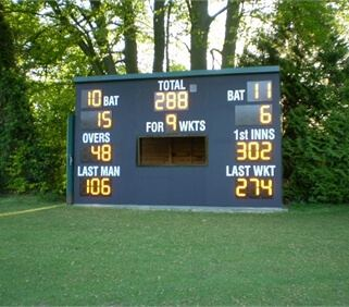 Black WISA-Multiwall for Cricket Scoreboards - Andrew Ashworth