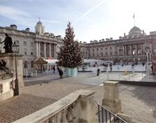 Losberger used Grey Hexa Grip Plywood at Somerset House Ice Rink
