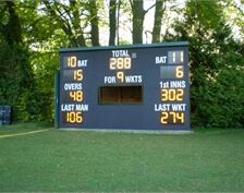 Black Multiwall used for Cricket Scoreboard, courtesy Andrew Ashworth