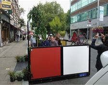 "WISA-Multiwall ""Parklet"" by H B Designs Ltd."