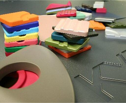 kydex thermoformable plastic samples