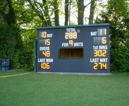WISA-Multiwall decorative polypropylene laminate birch plywood being used for cricket board