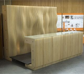 CNC machined Birch Plywood Bar